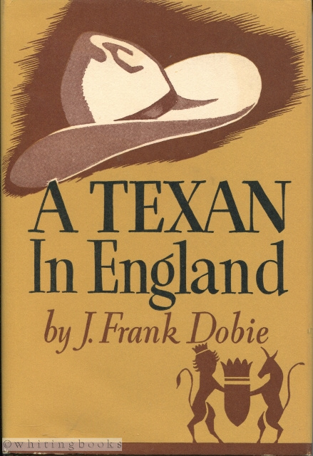Image for A Texan in England