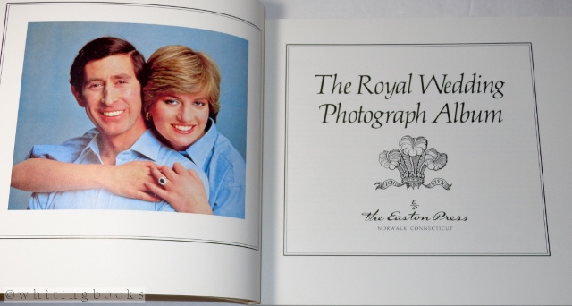 Image for The Royal Wedding Photograph Album (Charles and Diana)