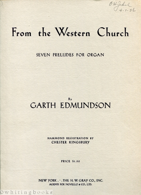 Image for From the Western Church: Seven Preludes for Organ
