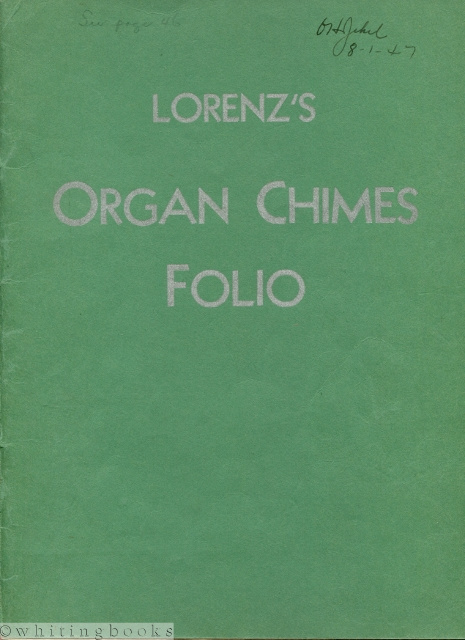 Image for Lorenz's Organ Chimes Folio