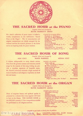 Image for The Devotional Organ Album for church and Home: Forty-Three Selections for the Organ with Registration for Pipe organ and Hammond Organ