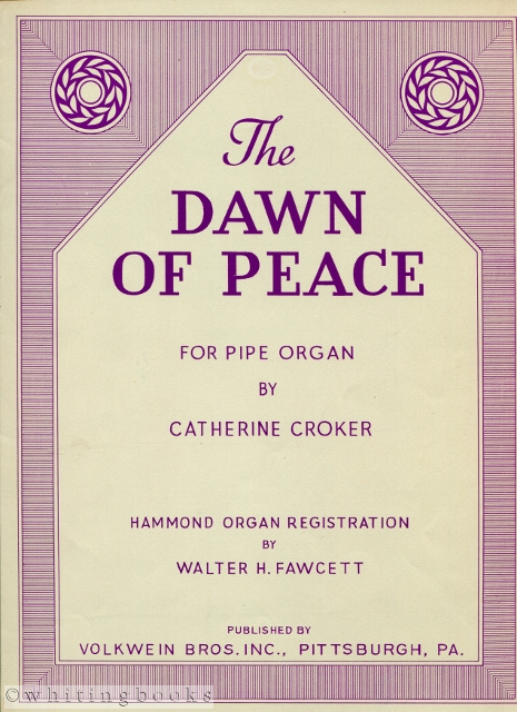 Image for The Dawn of Peace for Pipe Organ