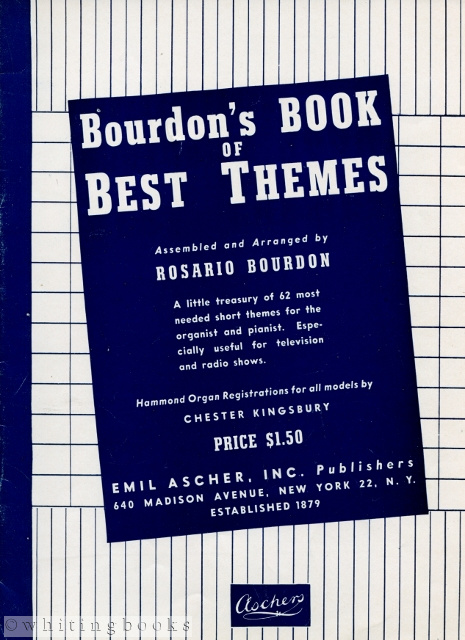 Image for Bourdon's Book of Best Themes