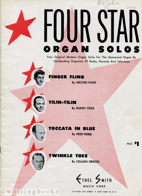 Image for Four Star Organ Solos: Four Original Modern Organ Solos for the Hammond Organ by Outstanding Organists of Radio, Records, and Television