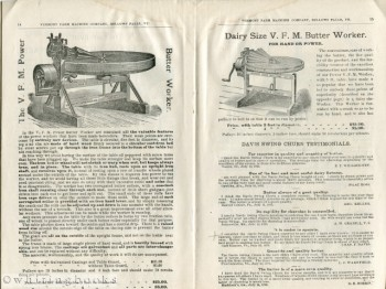 Image for Vermont Farm Machine Co. - Dairy and Creamery Apparatus Catalogue, No. 95
