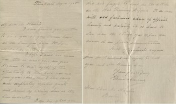 Autograph Signed Letter from Grover Cleveland to Former U.S. Treasury Assistant Secretary, Charles S. Hamlin, Regarding a Meeting with Hamlin and Former U.S. Treasury Secretary Carlisle - Tamworth (New Hampshire) Aug 16, 1905