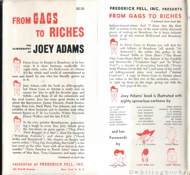 Image for From Gags to Riches: An Alibiography