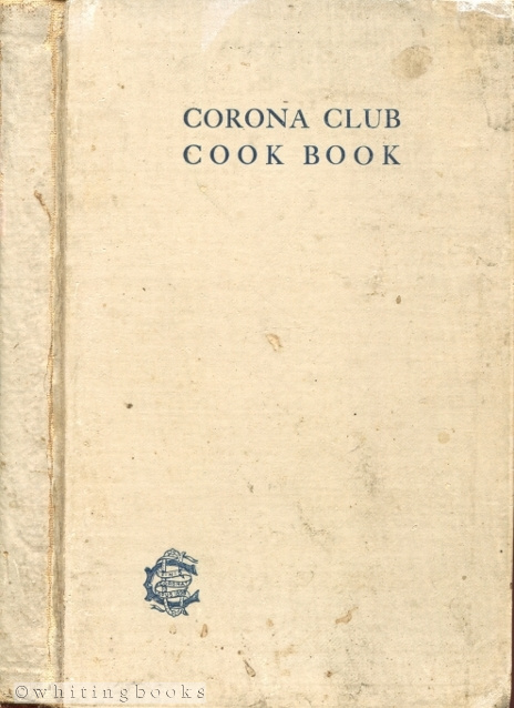 Image for Corona Club Cook Book