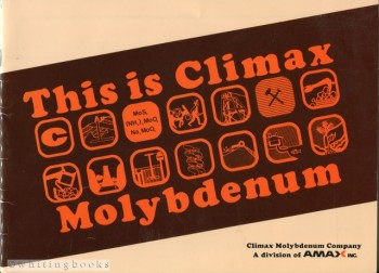 Image for This is Climax Molybdenum