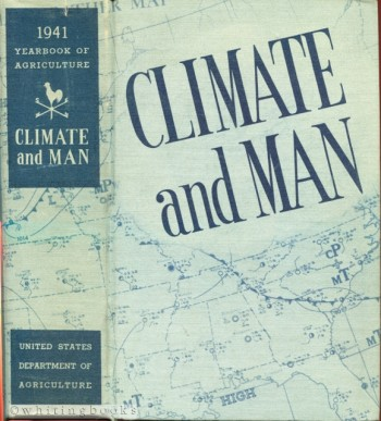 Image for Climate and Man: The 1941 Yearbook of Agriculture