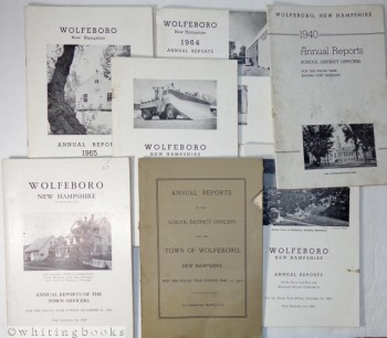 Image for Annual Reports for the Town of Wolfeboro, New Hampshire, 1910-1965 (Lot of 7)