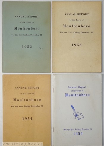 Image for Annual Reports of the Town of Moultonboro, New Hampshire - Lot of Four: 1952,1953, 1954, 1959