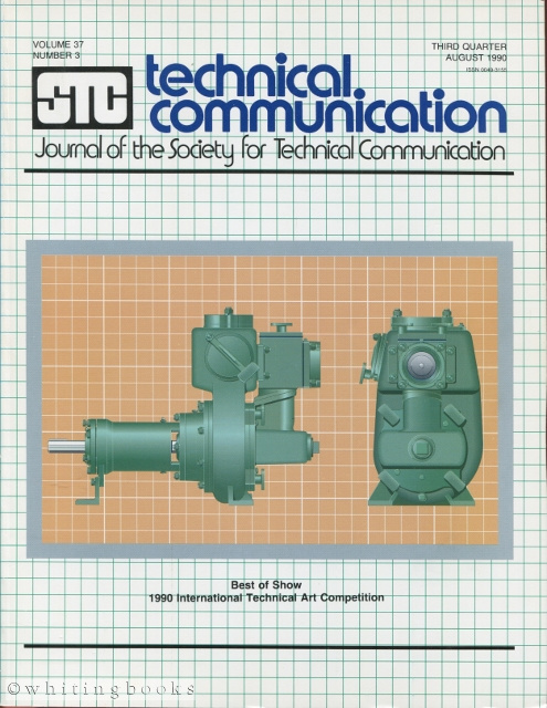 Image for Technical Communication: Journal of the Society for Technical Communication - Volume 36, Number 4, November 1989