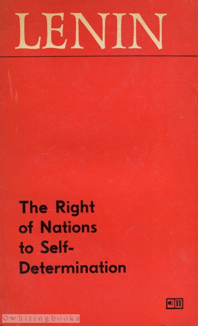 Image for The Right of Nations to Self-Determination