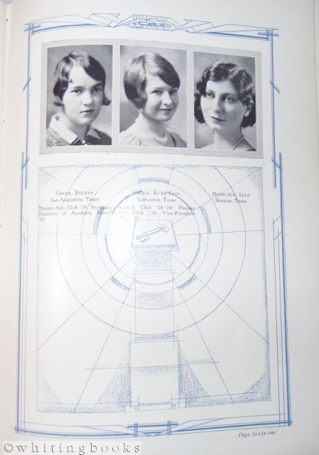 Image for Kidd-Key College 1929 Yearbook - The Key - Sherman, Texas