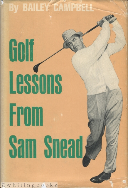 Image for Golf Lessons from Sam Snead