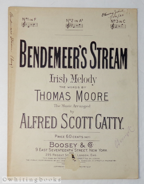 Image for Bendemeer's Stream: Irish Melody