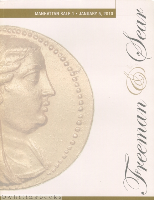 Image for Freeman & Sear Manhattan Sale 1 - January 5, 2010 - Coin Auction Catalog