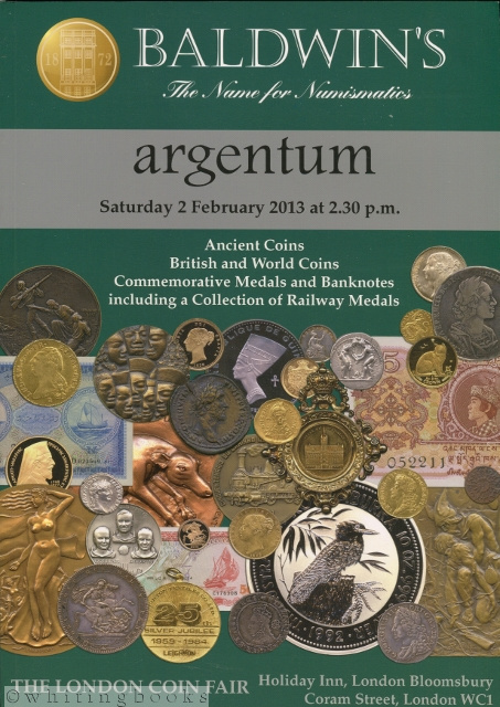 Image for Baldwin's Coin Auction Catalog, 2 February 2013 - Argentum