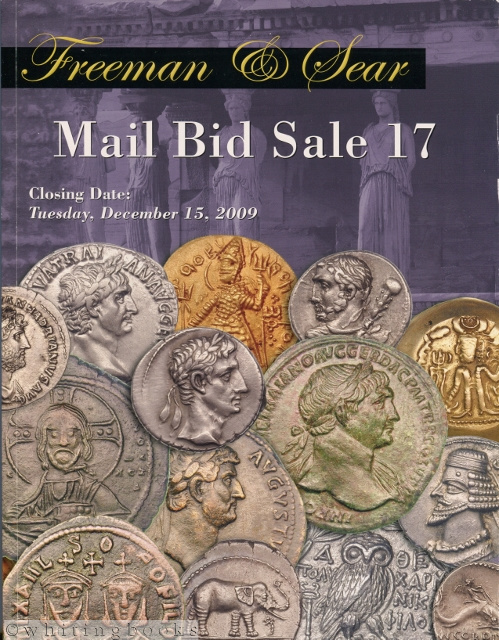 Image for Freeman & Sear Mail Bid Sale December 15, 2009 - Coin Auction Catalog