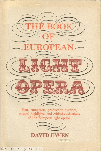 Image for The Book of European Light Opera