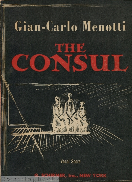 Image for The Consul: Musical Drama in Three Acts - Vocal Score
