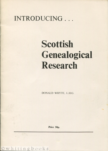 Image for Introducing... Scottish Genealogical Research