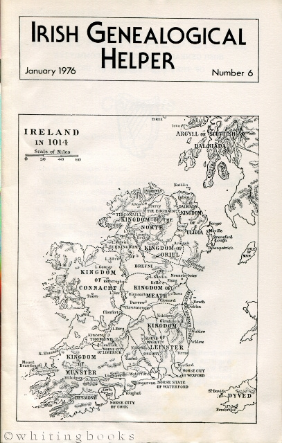 Image for Irish Genealogical Helper - Number 6, January 1976
