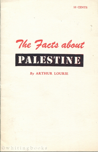 Image for The Facts About Palestine