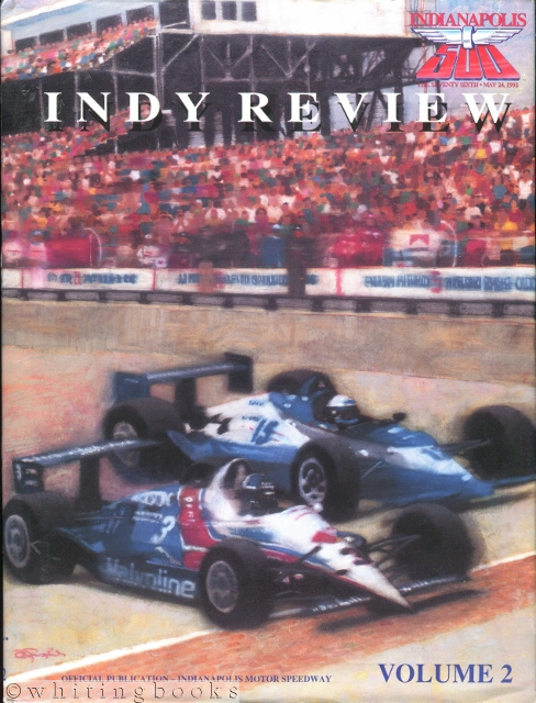 Image for Indy Review, Volume 2: 76th Indianapolis 500, May 24, 1992