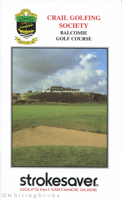 Image for Strokesaver: Distance Guide for Crail Golfing Society, Balcomie Golf Course, Scotland