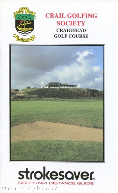 Image for Strokesaver: Distance Guide for Crail Golfing Society, Craighead Golf Course Scotland
