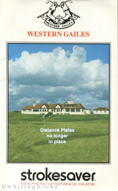 Image for Strokesaver: Distance Guide for Western Gailes Golf Club, Scotland