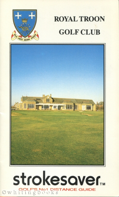 Image for Strokesaver: Distance Guide for Royal Troon Golf Club, Scotland