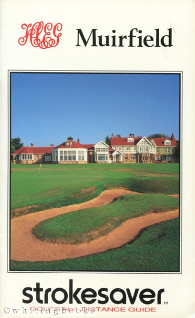 Image for Strokesaver: Distance Guide for Muirfield Golf Course, Scotland
