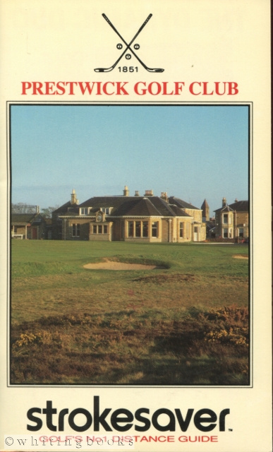 Image for Strokesaver: Distance Guide for Prestwick Golf Club, Scotland