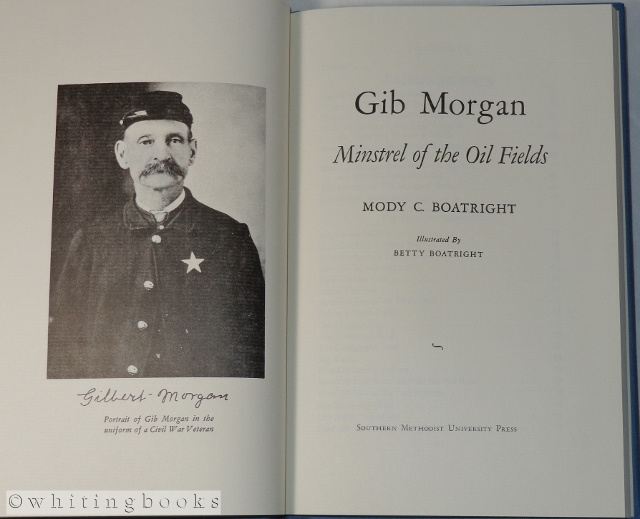 Image for Gib Morgan: Minstrel of the Oilfields