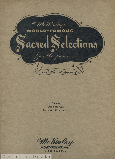 Image for McKinley's World-Famous Sacred Selections for Piano