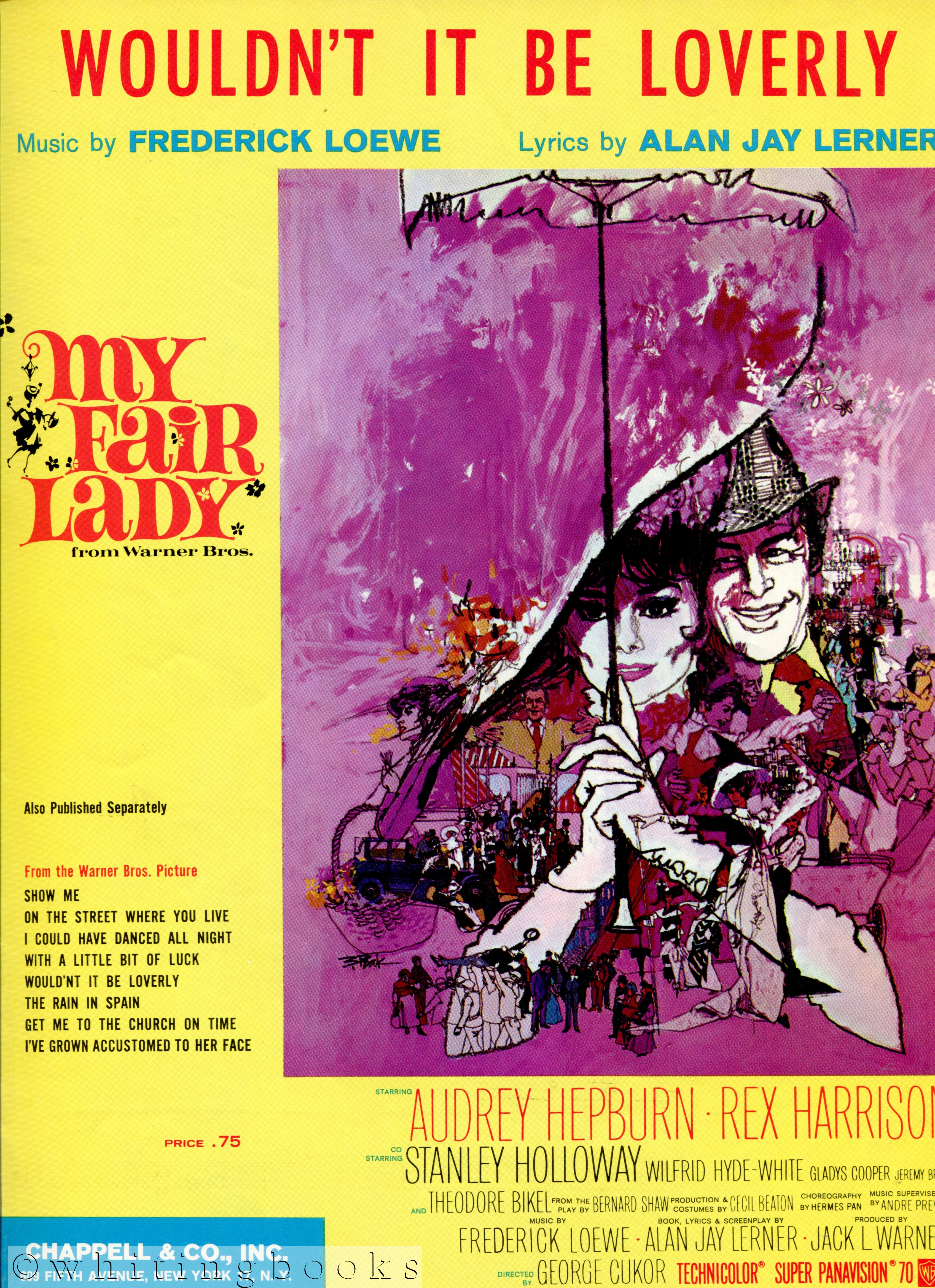 Image for Wouldn't it be Loverly - Sheet Music from the Warner Bros. Movie, My Fair Lady