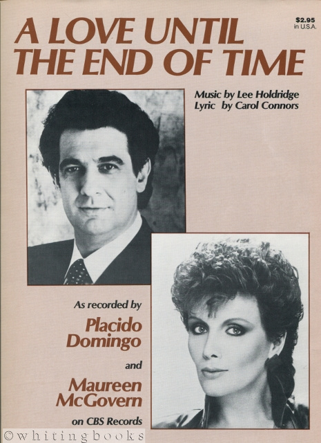 Image for A Love Until the End of Time, as Recorded By Placido Domingo and Maureen McGovern
