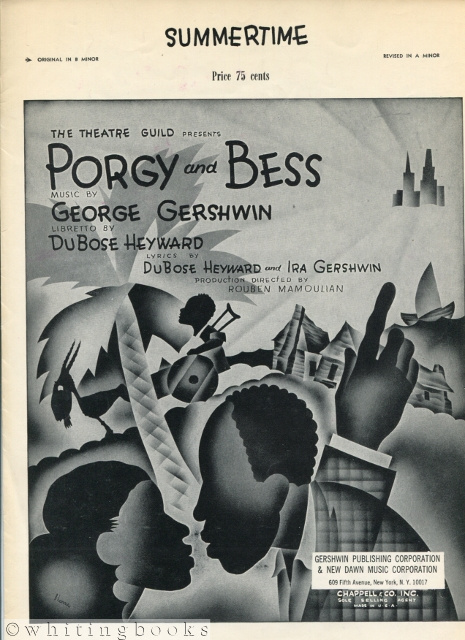 Image for Summertime, from Porgy and Bess - Revised in A Minor (Original in B Minor)