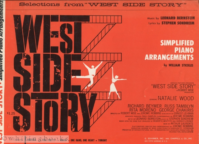 Image for Selections from West Side Story - Simplified Piano Arrangements by William Stickles