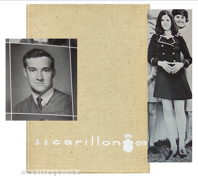Image for Carillon 69: Bellaire Senior High School Yearbook (Houston, Texas), Volume XIV 1969, Including the Following Students: Actor RANDY QUAID and 2020 US Presidential Candidate and Author/Lecturer MARIANNE WILLIAMSON