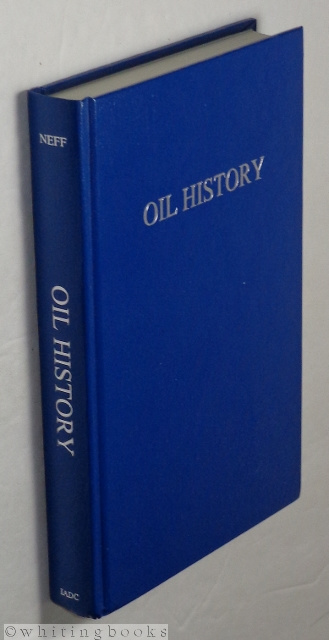 Image for Oil History: A Selected & Annotated Bibliography