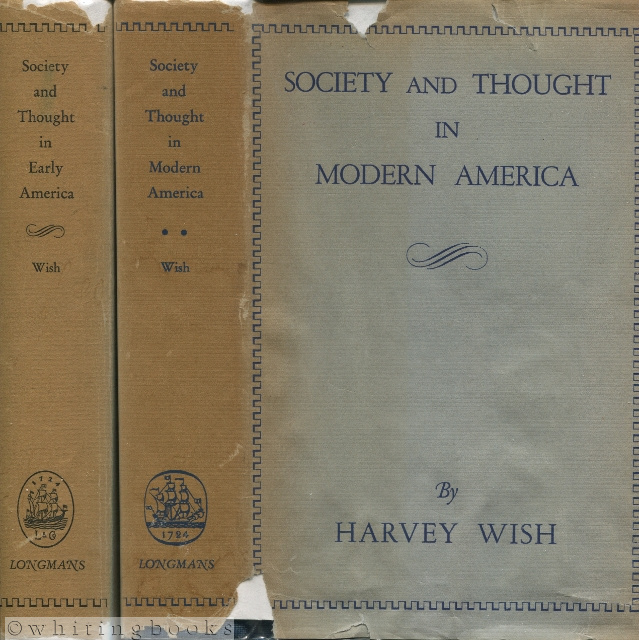 Image for Society and Thought in America: A Social and Intellectual History of the American People - Two Volumes