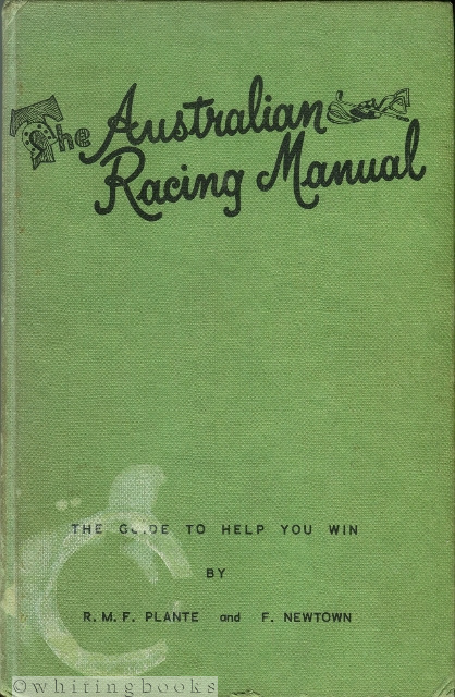 Image for The Australian Racing Manual: The Guide to Help You Win