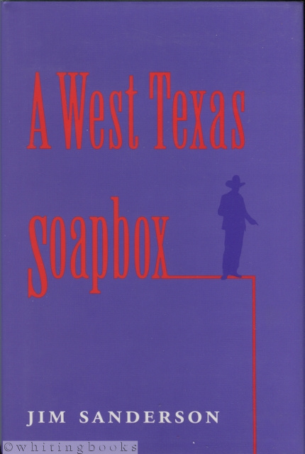 Image for A West Texas Soapbox (Number Two: West Texas A&M University Series)