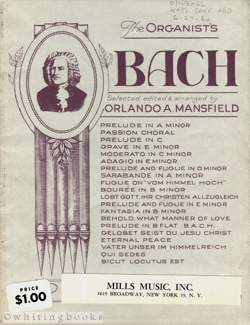 Image for The Organist's Bach [Publisher's No. 22237]