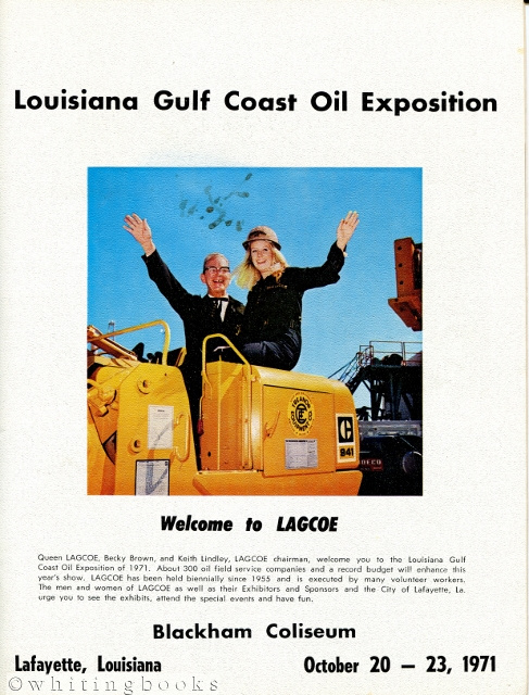 Image for Louisiana Gulf Coast Oil Exposition (LAGCOE) - 1971 Brochure