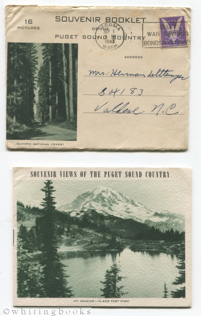 Image for Souvenir Views of the Puget Sound Country